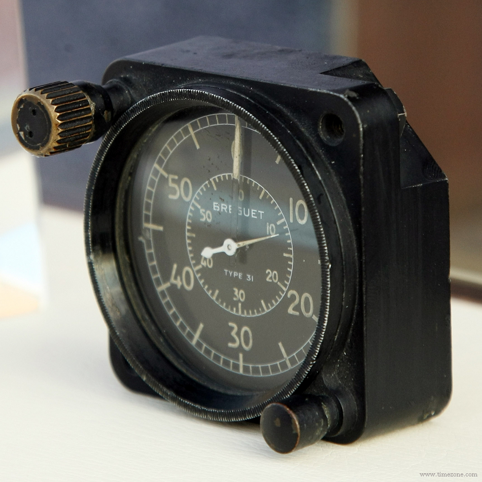 Breguet Watchmaker Aviator Innovator, Dashboard Chronograph Type 31