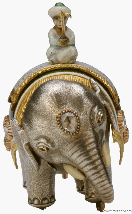 The Royal Collection Faberg 233 Elephant Automaton By