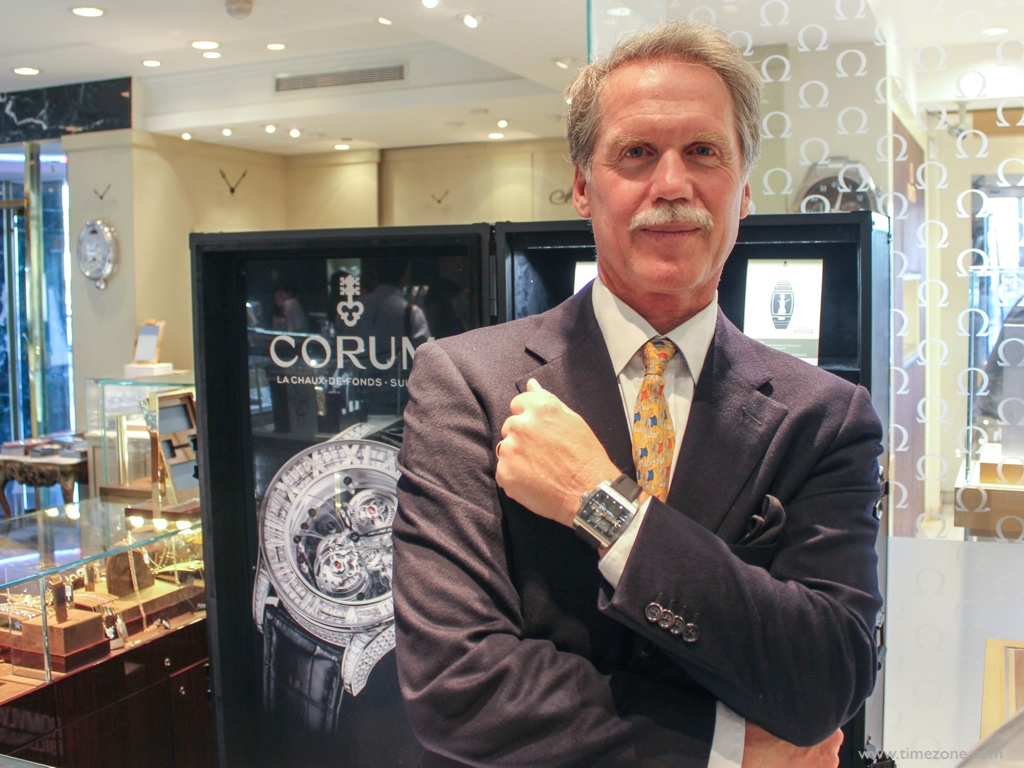 Vincent Calabrese, AHCI, Corum Golden Bridge, master watchmaker, independent watchmaker