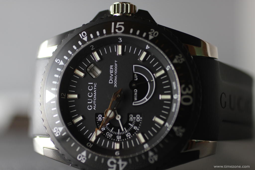7d9867ee23e Diver Extra Large in black PVD and steel with Girard-Perregaux GP3300  automatic movement