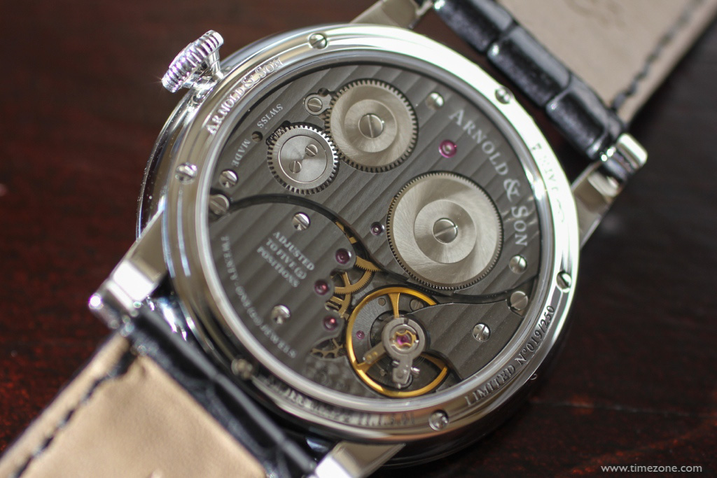 Arnold & Son HMS1, HMS1 anthracite, Caliber A&S1001, 1LCAP.S02A.C111S