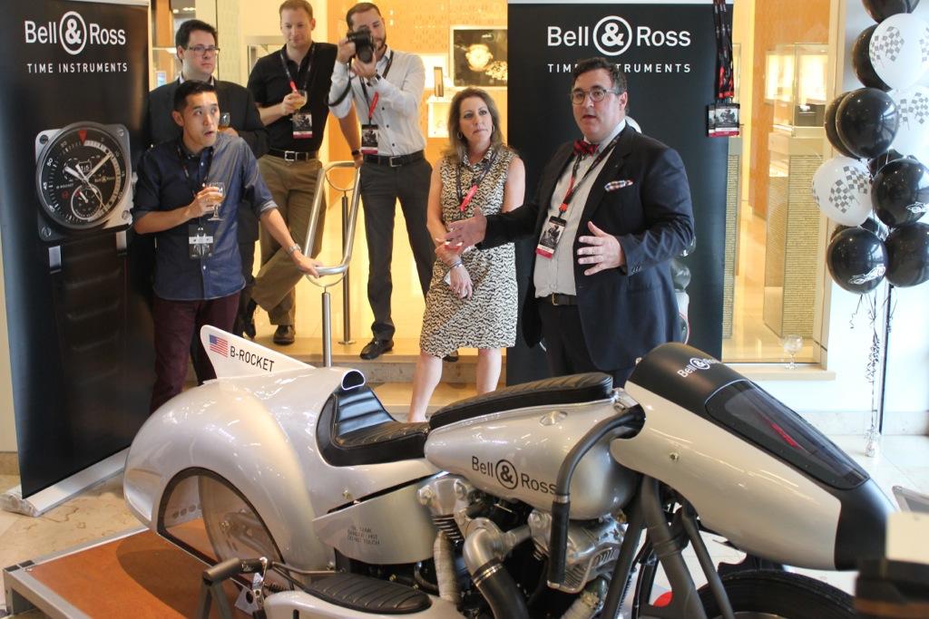 Bell & Ross BRocket, B-Rocket concept, B-Rocket turbines