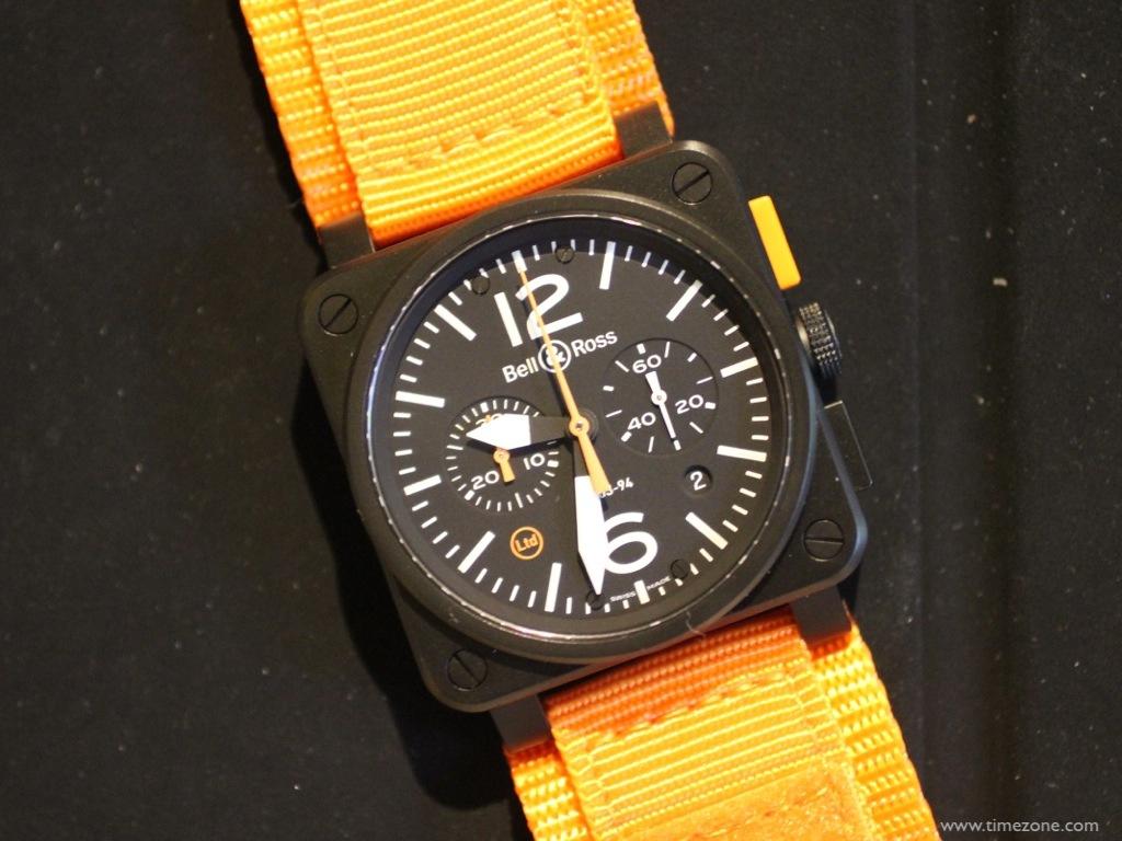 BR 03-94 Carbon Orange, Bell Ross BR03-94, BR03-94 Orange