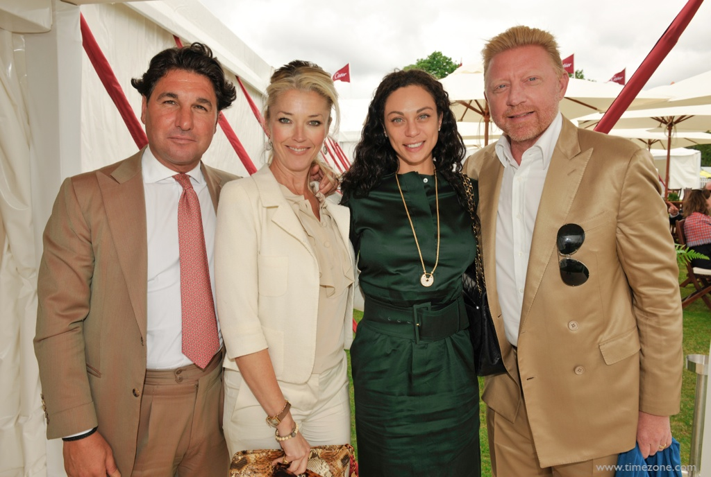 Cartier Queen's Cup, Boris Becker, Lilly Becker Cartier, HM The Queen Cartier, 30 Years of Cartier at Guards Polo Club