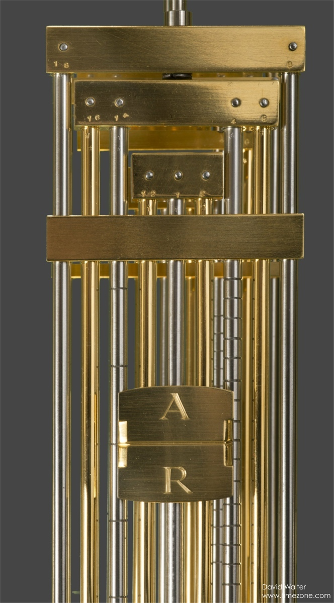 David Walter Double Pendulum Table Clock, Double Pendulum, David Walter Clock, Janvier Clock