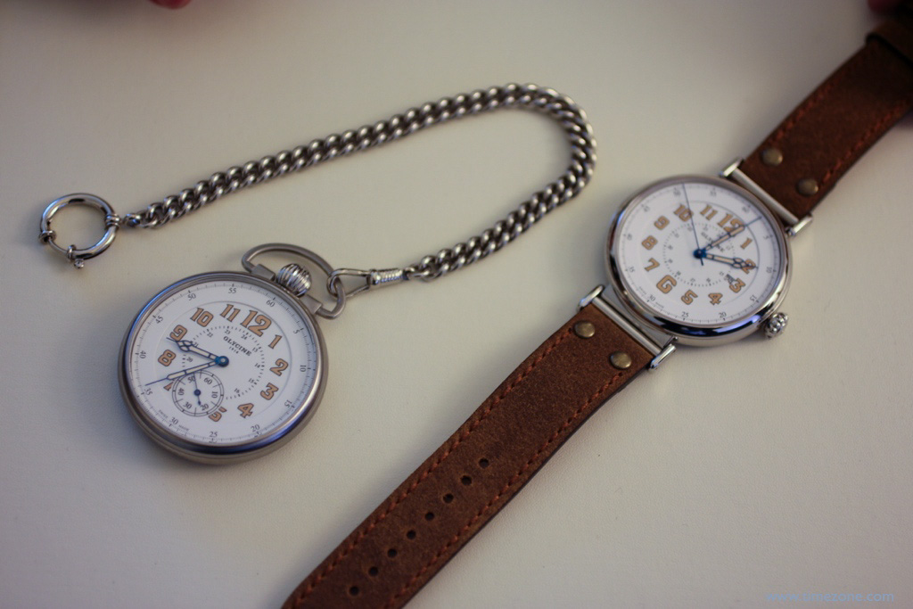 Glycine F104 100th Anniversary Set, Glycine F104 Pocket Watch, Glycine F 104, Glycine F104