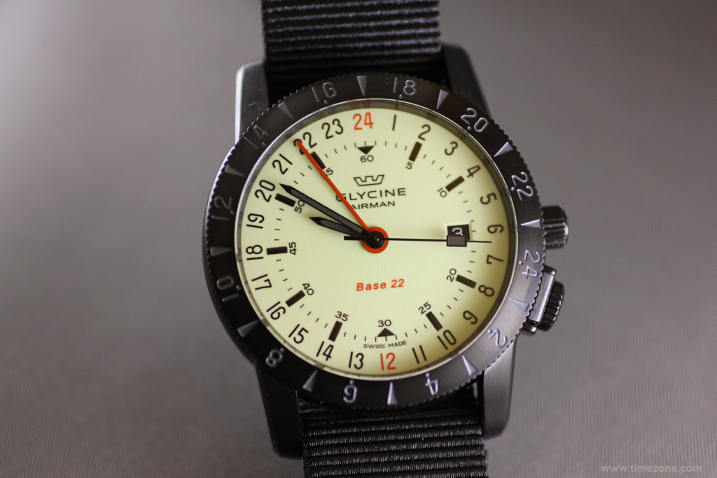 Glycine Airman Base 22 Luminous, Airman Base 22 Luminous, Glycine Airman