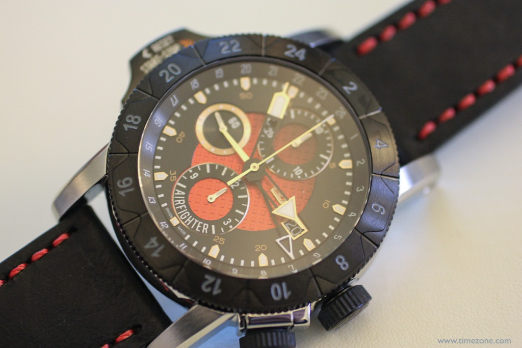 Airman AIRFIGHTER, slide chronograph