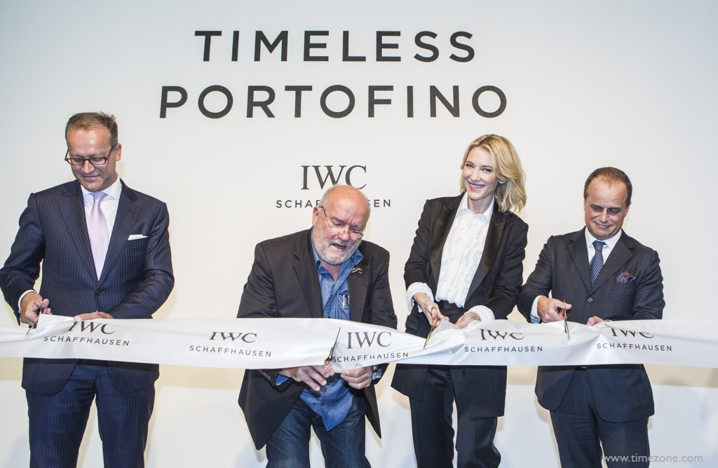 IWC Cate Blanchett, IWC Timeless Portofino, IWC Portofino Midsize Event, IWC Watches & Wonders, Cate Blanchett Hong Kong