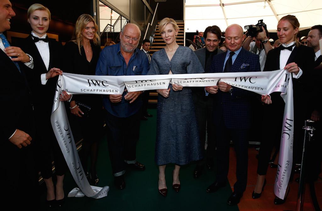 IWC Cate Blanchett, IWC Timeless Portofino, IWC Portofino Midsize Event, IWC Zurich Film Festival, Cate Blanchett Zurich Film Festival