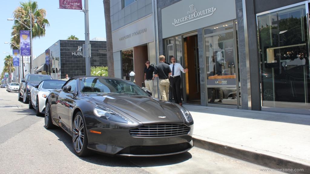 Jaeger-LeCoultre Aston Martin, JLC Aston DB9, Aston Martin DB9, Aston DB9, Aston DB9 grey
