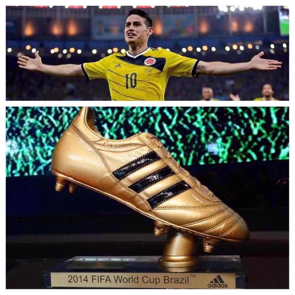 James Rodriguez, Botin de Oro, James Rodriguez Golden Foot