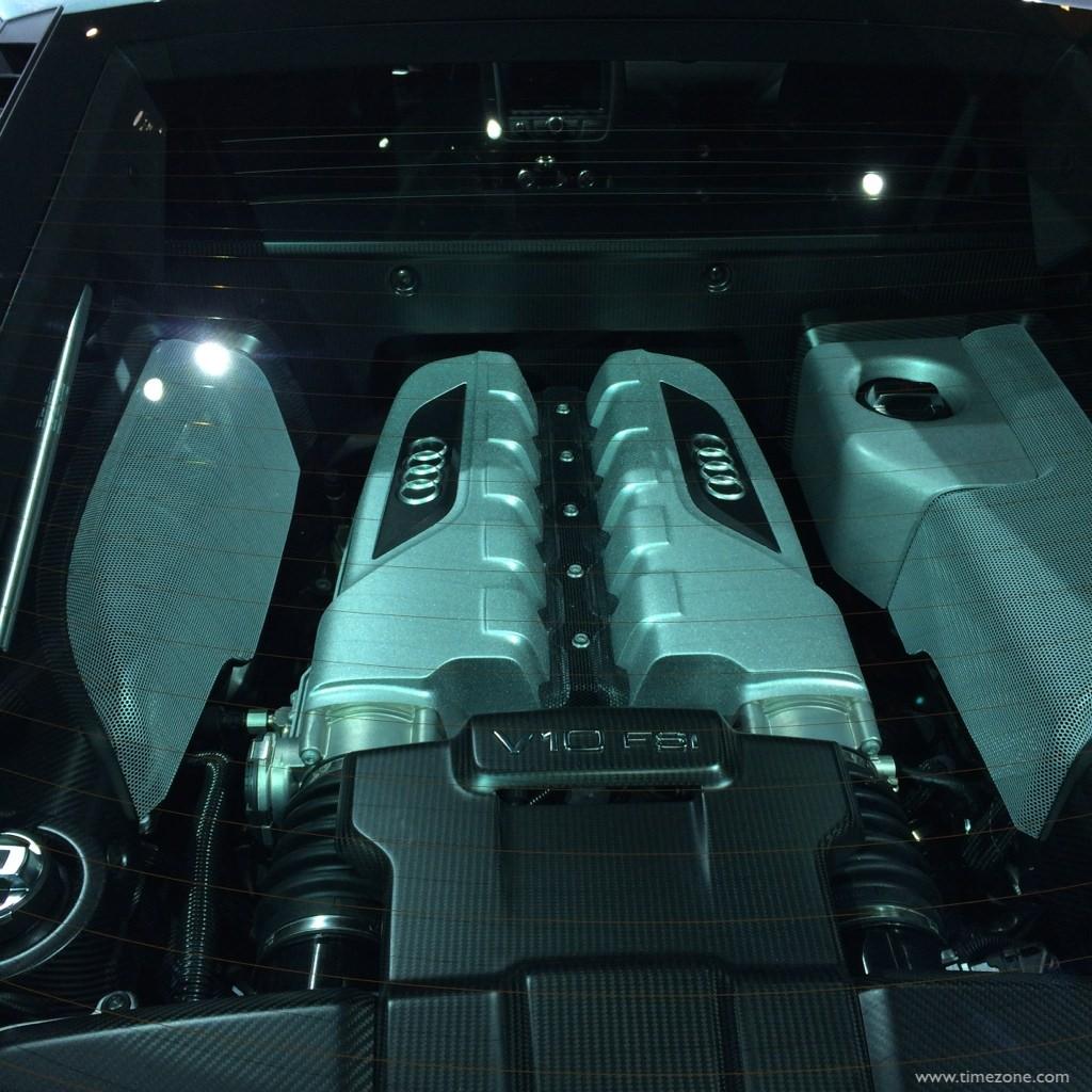 Audi R8 Competition, LA Auto Show Audi