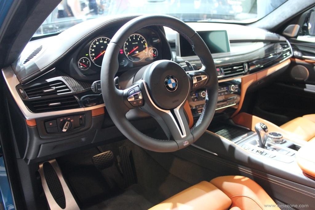 BMW X6 M SUV, BMW X6M, LA Auto Show BMW