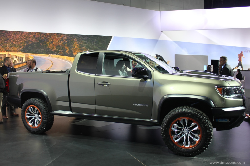 Chevrolet Colorado ZR2 concept, Colorado ZR2 concept, LA Auto Show Chevrolet
