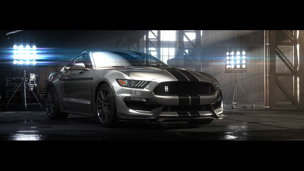 2016 Ford Mustang Shelby GT350, Ford Shelby, LA Auto Show Ford