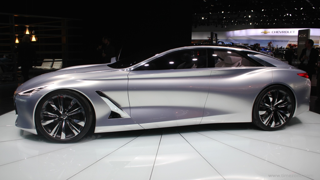 Infiniti Q80 Inspiration, Infiniti Q80 Concept, LA Auto Show Infiniti