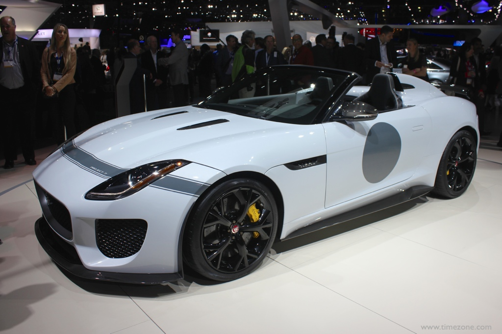 F-Type R with AWD, 2016 F-Type R, LA Auto Show Jaguar Land Rover