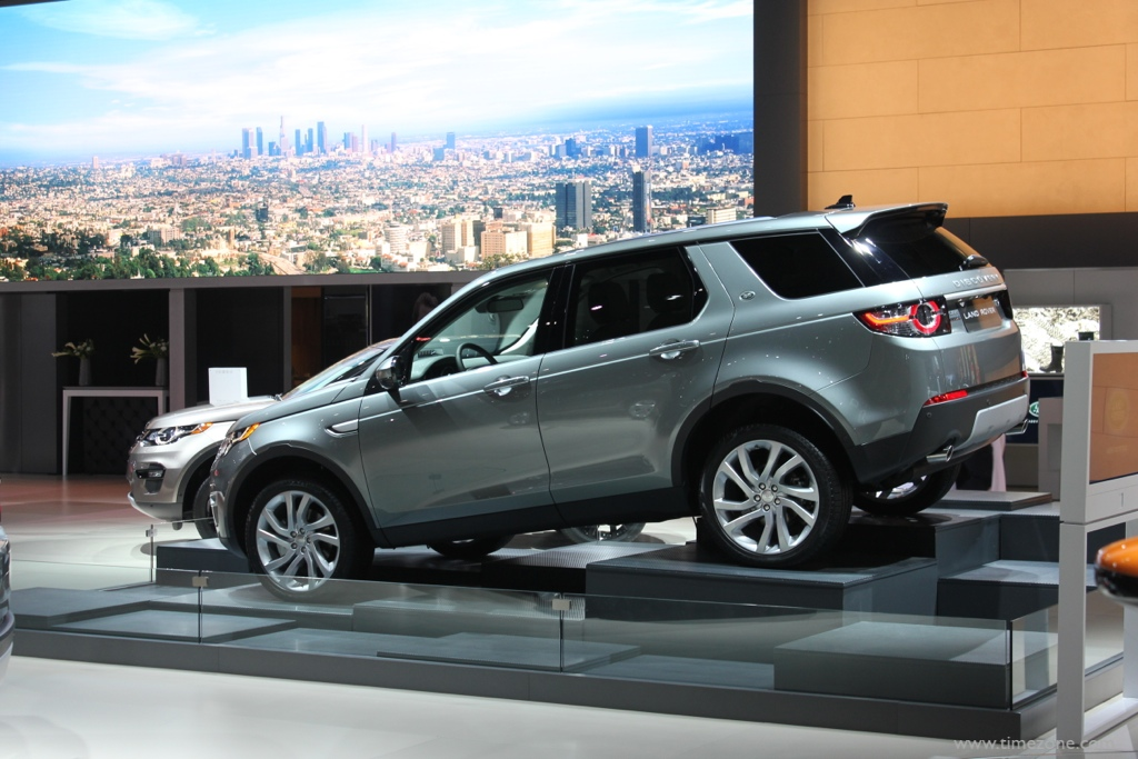 Land Rover Discovery Sport, 2016 Discovery Sport, LA Auto Show Jaguar Land Rover