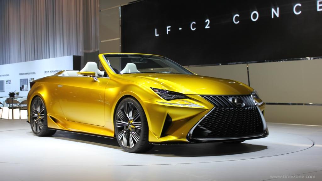 Lexus LF-C2 Concept, Lexus LF-C2, LA Auto Show Lexus