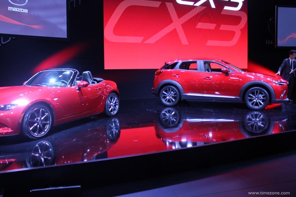 2016 Mazda CX-3, Mazda CX-3, LA Auto Show CX-3