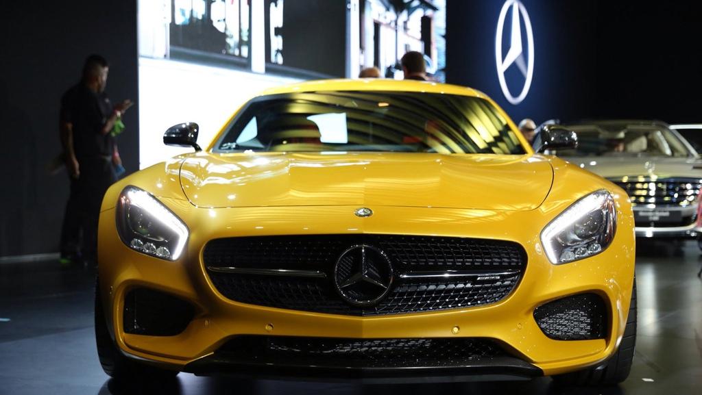 Mercedes-AMG GT, Mercedes AMG, LA Auto Show Mercedes-Benz