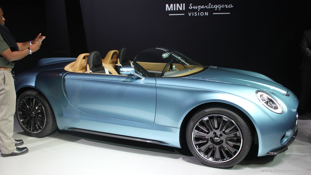 MINI Superleggera, Mini Superleggera concept, LA Auto Show MINI