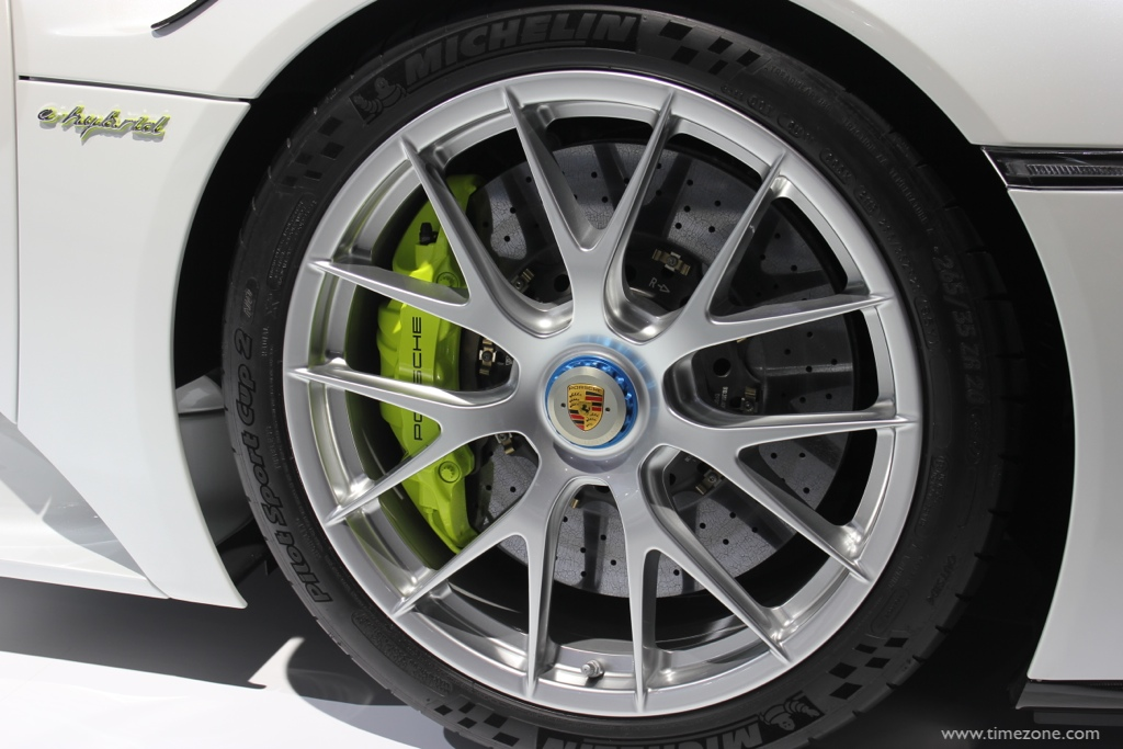 Cayenne S E-Hybrid, LA Auto Show Porsche