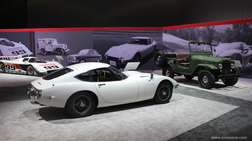 1967 Toyota 2000 GT, 1961 FJ25 Land Cruiser, 1961 Toyota Land Cruiser, LA Auto Show Toyota
