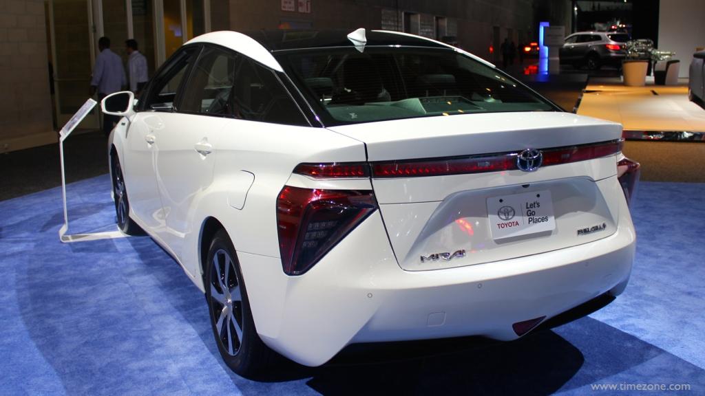 2016 Toyota Mirai, Toyota fuel cell vehicle, Toyota Mirai fuel cell, LA Auto Show Toyota