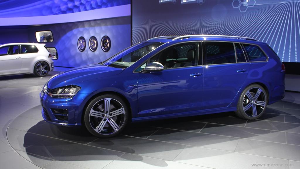 Volkswagen Golf R Variant, 2016 Volkswagen Golf R Variant, LA Auto Show Volkswagen