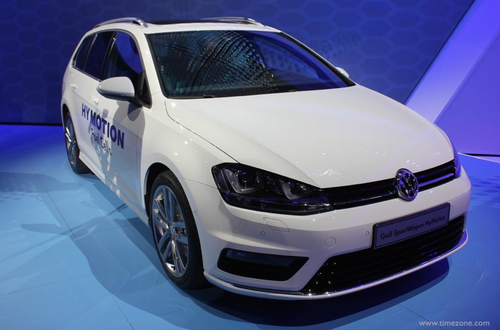 Volkswagen Golf SportWagen HyMotion, Golf SportWagen HyMotion fuel cell, LA Auto Show Volkswagen