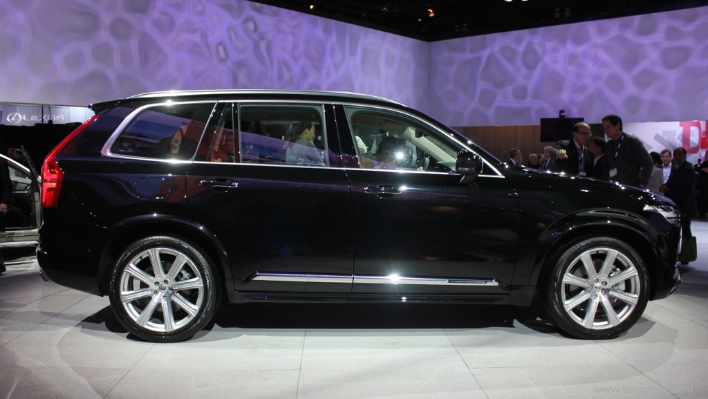 Volvo XC90 Inscription, 2016 XC90, LA Auto Show Volvo