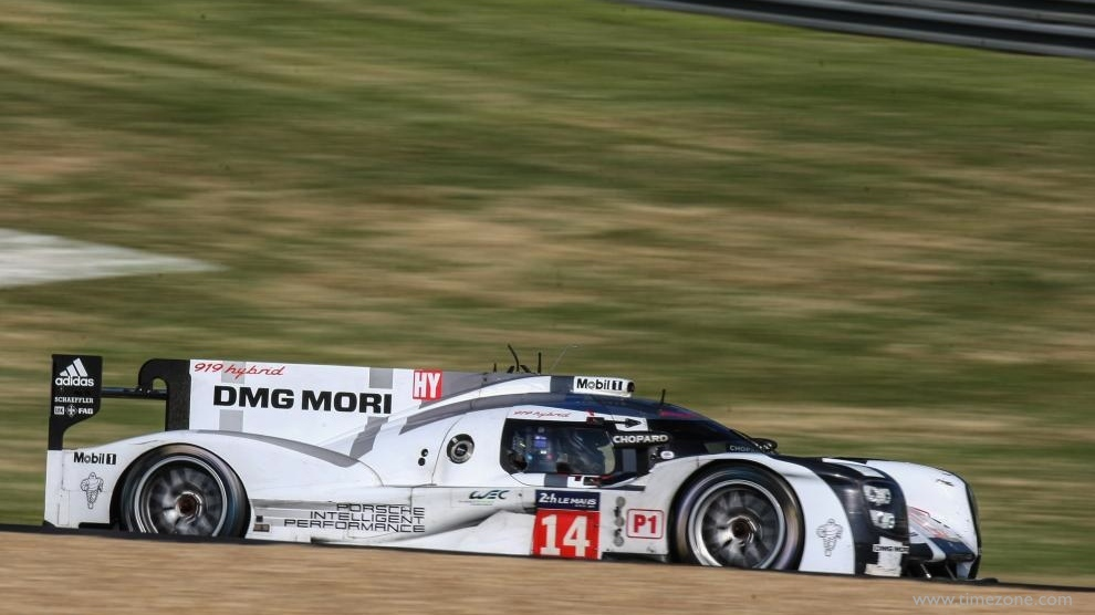 Chopard Porsche Team, #14 Porsche 919 Hybrid, Chopard 24 Heures du Mans