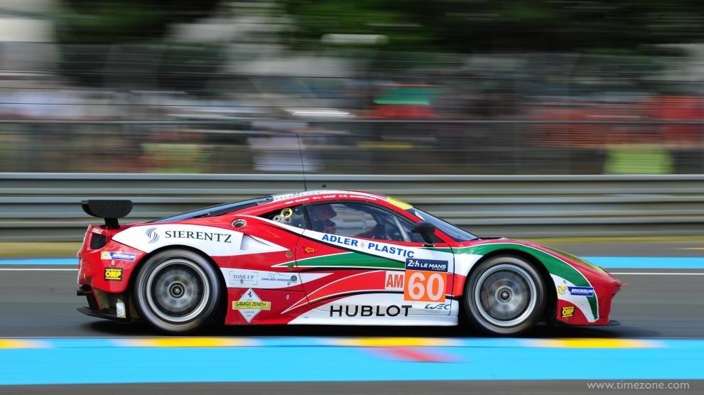 Hublot Ferrari Team, AF Corse Le Mans, Hublot AF Corse, Ferrari F458, #60 Ferrari