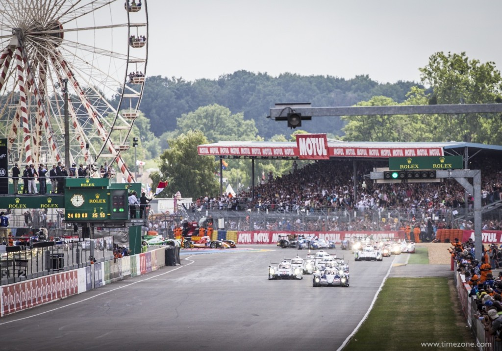 Start of Le Mans 2014, Rolex 24 Heures du Mans