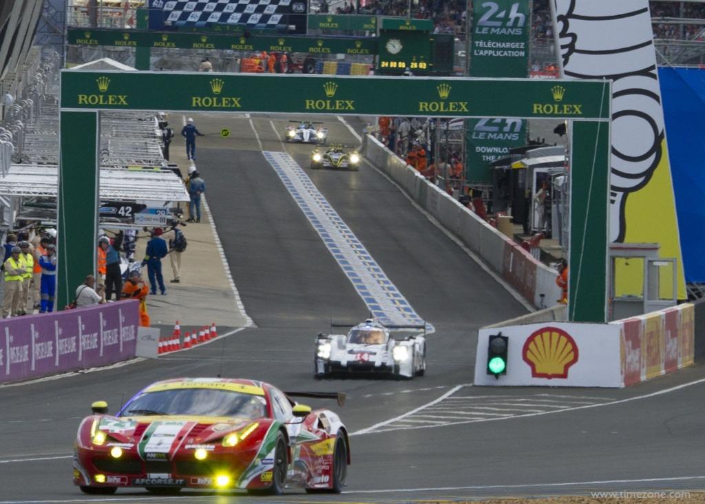 Le Mans #71 AF Corse, Porsche 919 Hybrid, Le Mans #14 Porsche Team, Rolex 24 Heures du Mans