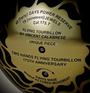 L'Epée Vincent Calabrese, L'Epée Two Hands, L'Epée Double Flying Tourbillon, Calabrese Flying Tourbillon