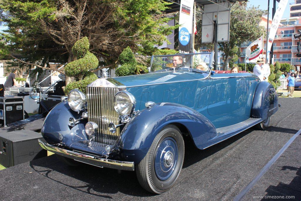 Panerai La Jolla Concours d'Elegance, 1936 Maharaja Rolls-Royce Phantom III