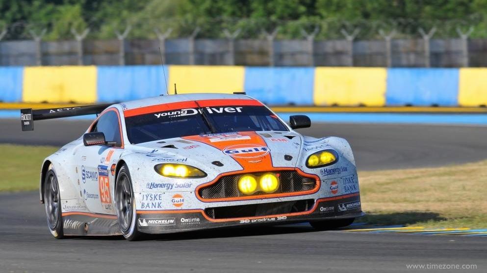Jaeger-LeCoultre Aston Martin Racing, Aston Martin Racing, JLC Aston Martin Racing, V8 Vantage, #95 V8 Vantage