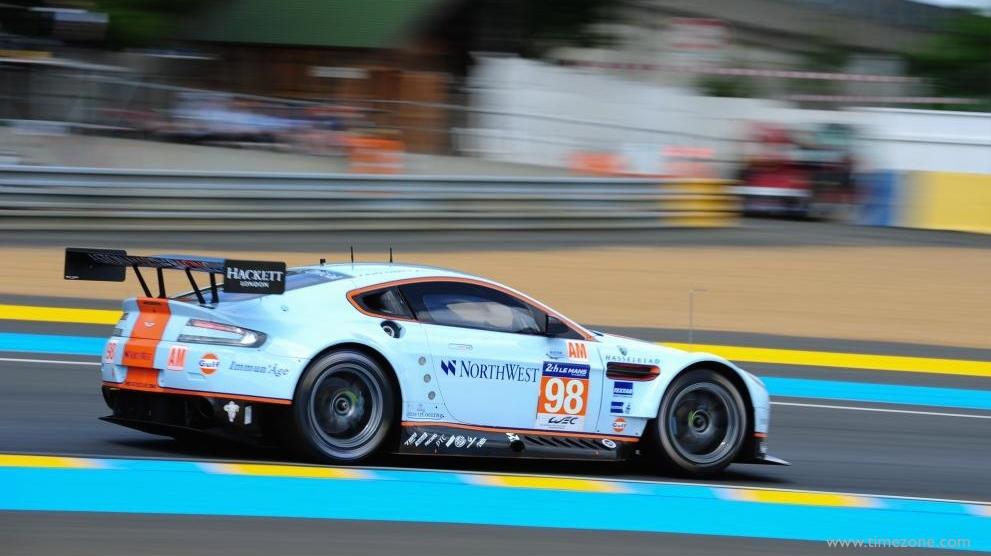 Jaeger-LeCoultre Aston Martin Racing, Aston Martin Racing, JLC Aston Martin Racing, V8 Vantage, #98 V8 Vantage