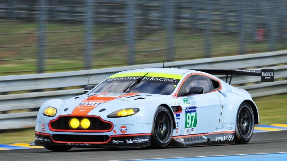 Jaeger-LeCoultre Aston Martin Racing, Aston Martin Racing, JLC Aston Martin Racing, V8 Vantage, #97 V8 Vantage