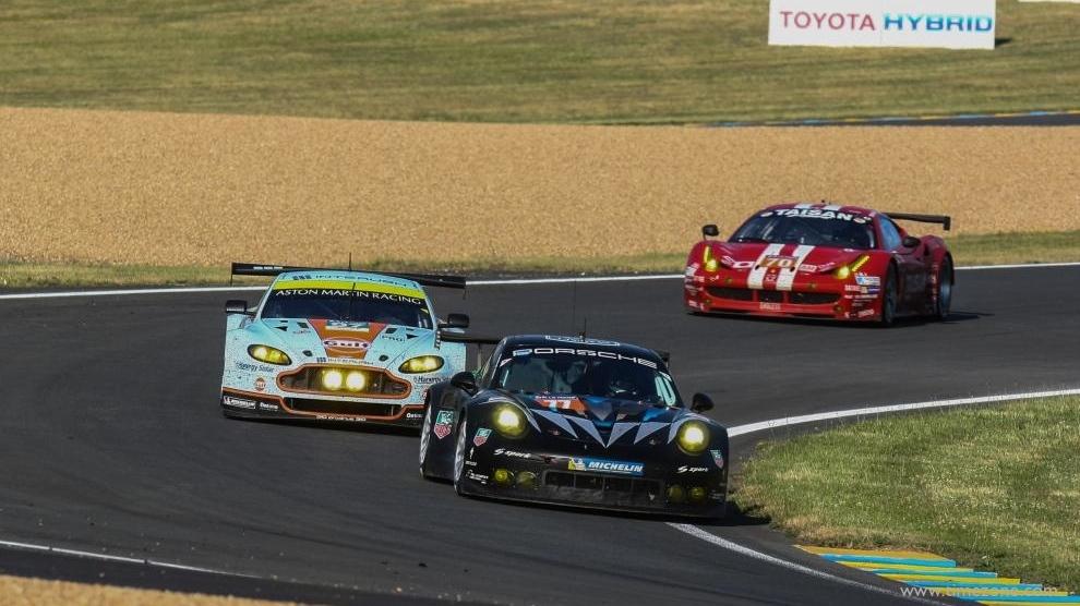 TAG Heuer Le Mans, Dempsey Le Mans, TAG Heuer Dempsey, Dempsey Racing, #77 Porsche 911 RSR