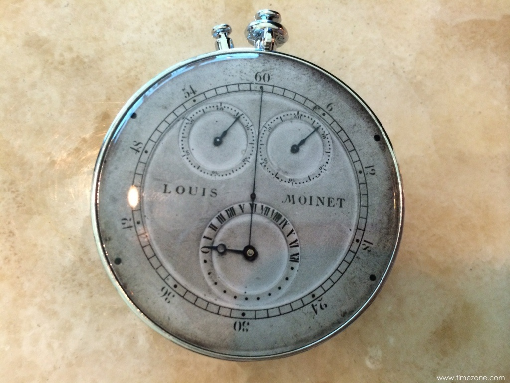Louis Moinet first chronograph, Louis Moinet compteur de tierces, Louis Moinet inventor chrongoraph, invented chronograph