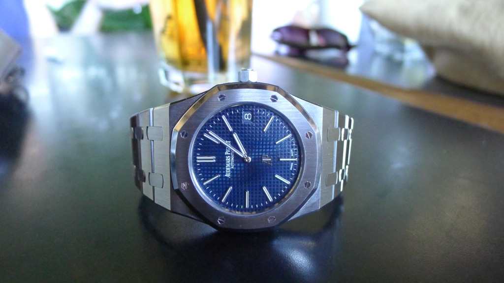 Audemars Piguet Royal Oak 15202, AP Royal Oak Jumbo, Royal Oak 15202