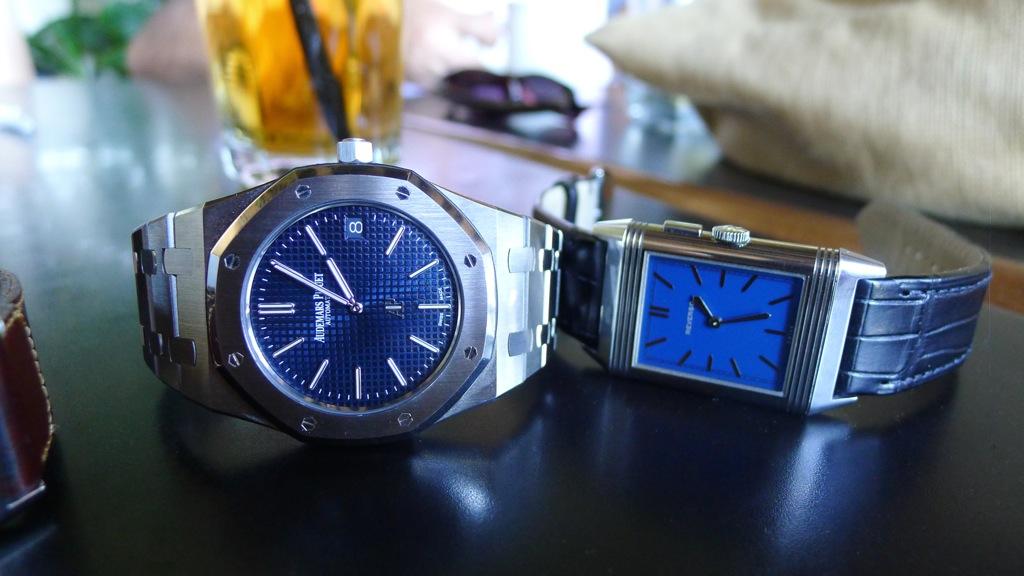 , Grande Reverso Ultra Thin Duoface Bleu, Reverso Bleu