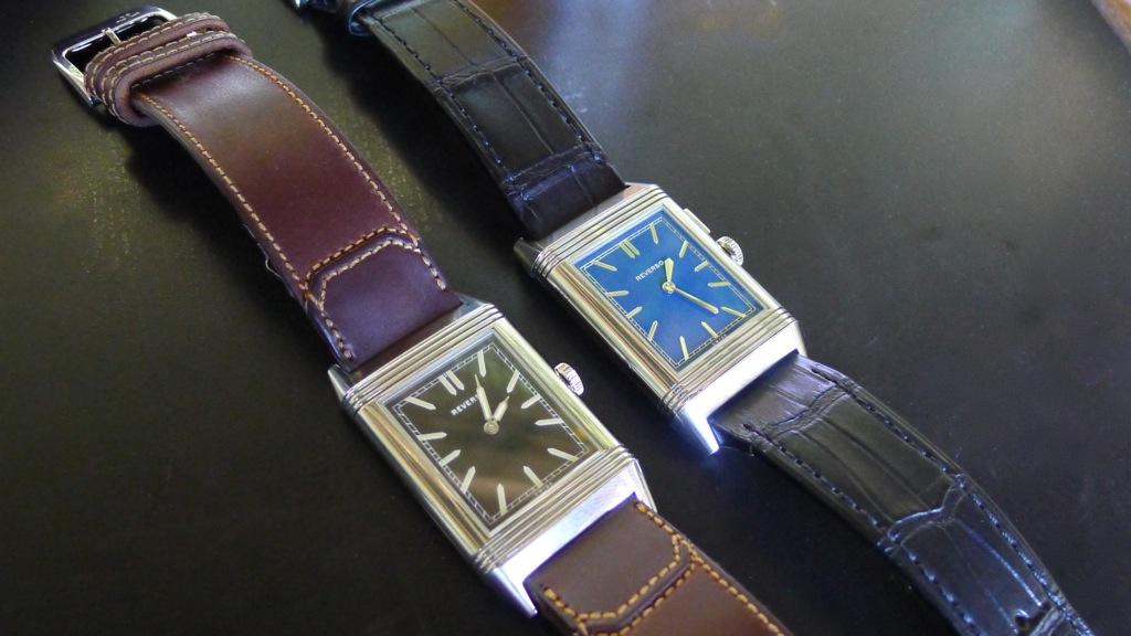 Jaeger-LeCoultre Tribute Reverso 1931, JLC Reverso, Reverso Fagiliano, Fagiliano strap, Grande Reverso Ultra Thin Duoface Bleu, Reverso Bleu