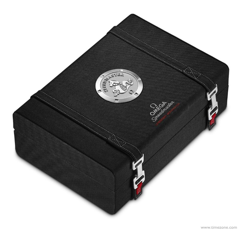 Omega Moonwatch, Omega presentation box, 9410.63.14, Omega NASA strap