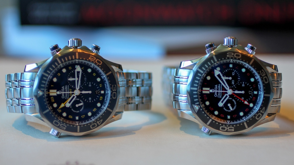 Seamaster Professional Diver 300 Chronograph GMT, Diver 300 Chronograph GMT, 212.30.44.52.03.001, 212.30.44.52.01.001