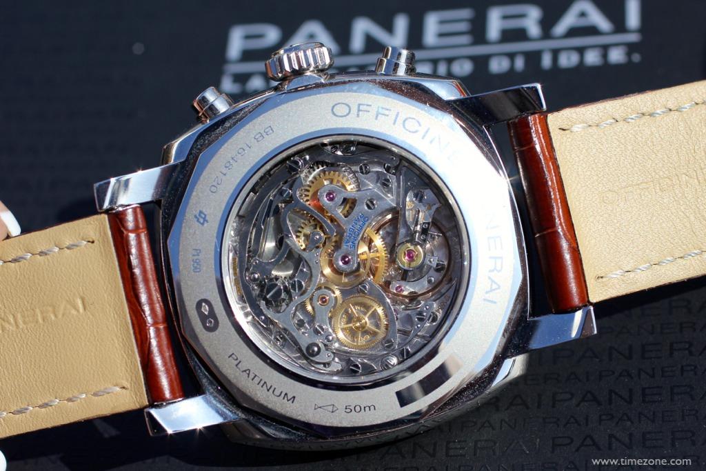 Panerai La Jolla Concours d'Elegance, Panerai PAM 518, Radiomir 1940 Chronograph PAM518, OP XXV, Minerva 13-22 chronograph movement
